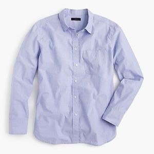 J. Crew Light Blue Chambray Shirt Size Large
